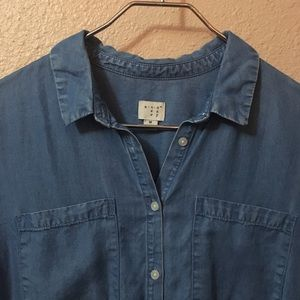 a new day Tops - Denim Button Up
